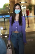 ANGELBABY (ANGELA YEUNG) at Changsha Airport 04/23/2020