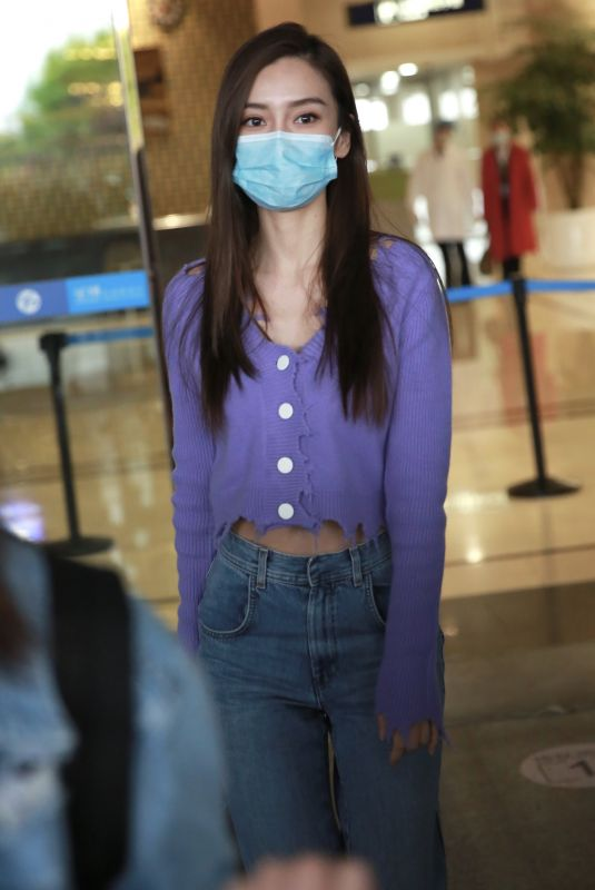 ANGELBABY (ANGELA YEUNG) at Changsha Airport 04/23/2020