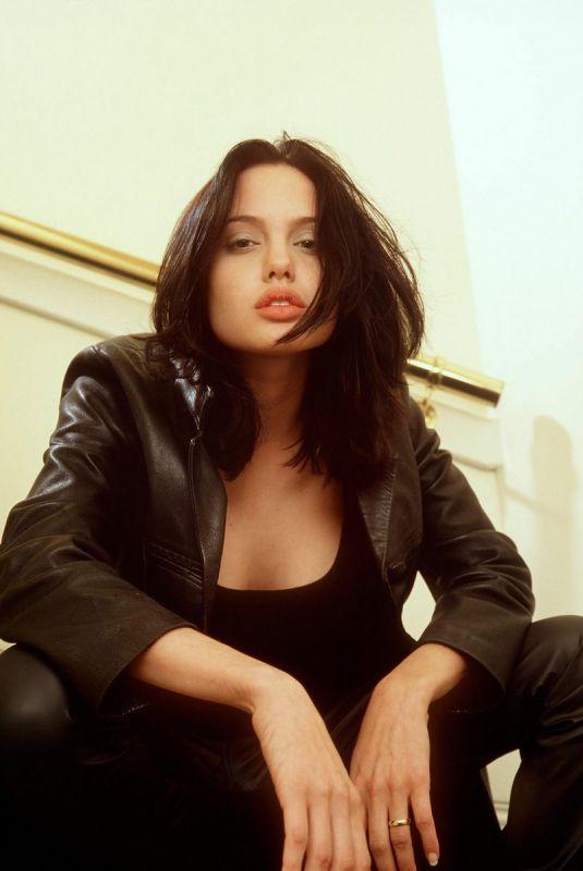 ANGELINA JOLIE at a Photoshoot, 1996