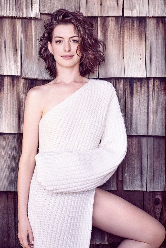 ANNE HATHAWAY for Glamour Magazine, UK October 2015