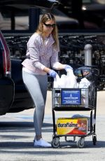 APRIL LOVE GEARY Out Shopping in Malibu 04/03/2020