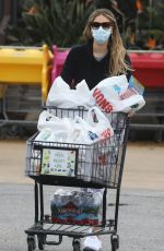 APRIL LOVE GEARY Wearing a Mask Out Shopping in Los Angeles 04/10/2020