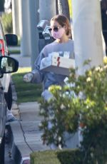 ASHLEY TISDALE Pick Up Dinner in Los Angeles 04/17/2020