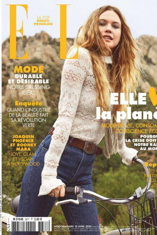 BEHATI PRINSLOO in Elle Magazine, France April 2020
