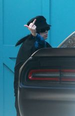 BILLIE EILIS Out and About in Los Angeles 04/01/2020