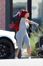 BLAC CHYNA Out and About in Los Angeles 04/17/2020
