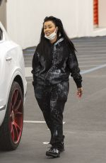 BLAC CHYNA Wearing Mask Out in Calabasas 04/13/2020