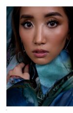 BRENDA SONG in QP Magazine, March 2020