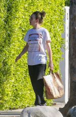 BRITT ROBERTSON Out in Los Angeles 04/22/2020
