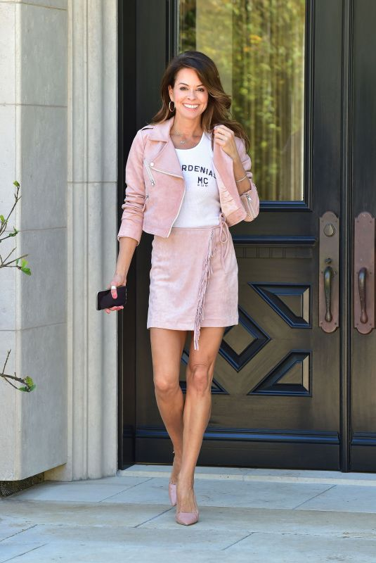 BROOKE BURKE Out and About in Los Angeles 04/07/2020