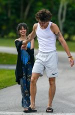 CAMILA CABELLO and Shawn Mendes Out in Miami 03/31/2020