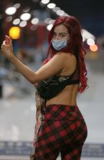 CARLA HOWE Wearing a Mask Out in London 04/09/2020