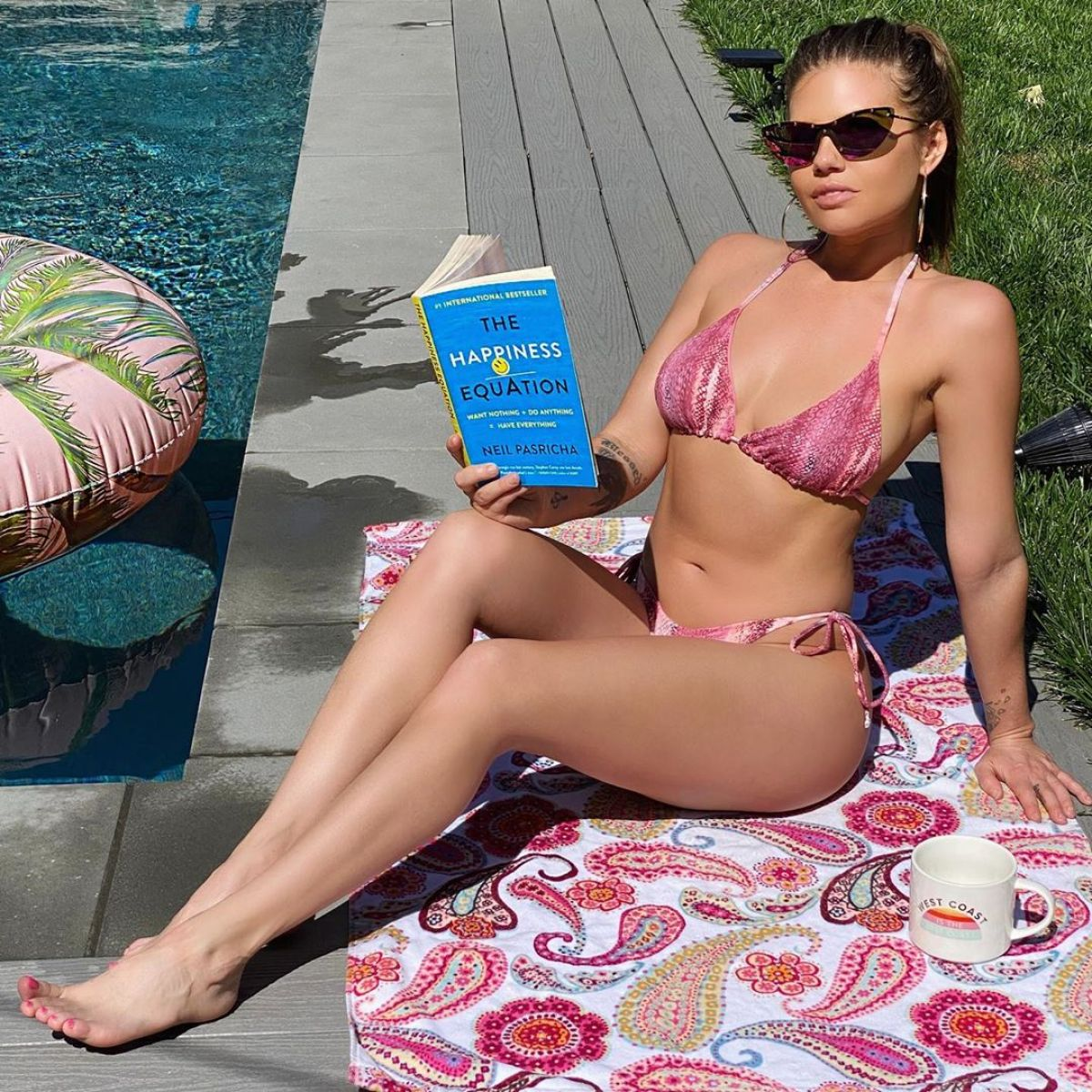 CHANEL WEST COAST in Bikini – Instagram Photo 04/16/2020 – HawtCelebs