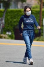CHARLI XCX Wearing Mask Out in Los Angeles 04/20/2020