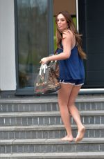 CHARLOTTE CROSBY Taking Large Takeaway Order from Manjaros Restaurant in Newcastle 04/03/2020