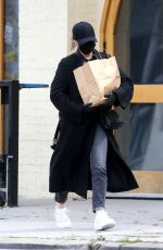CHLOE MORETZ Wearing Black Mask and Gloves Out Shopping in Los Angeles 04/08/2020