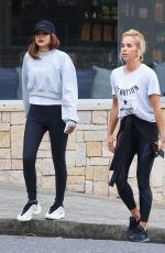 CHRISTINE CENTENERA and PIP EDWARDS Out and About in Sydney 04/01/2020