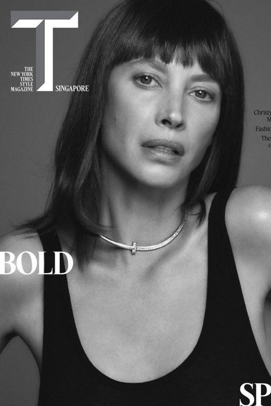 CHRISTY TURLINGTON in T Magazine, Singapore April 2020