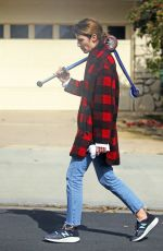 COBIE SMULDERS Out and About in Los Angeles 04/08/2020