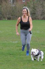 DANIELLE MASON Workout at a Park in London 04/27/2020