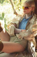 ELIZABETH THOMPSON in Elle Magazine, France April 2020