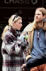 ELSA HOSK and Tom Daly Out in New York 04/16/2020