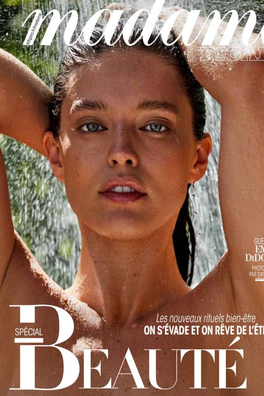 EMILY DIDONATO in Madame Figaro Magazine, April 2020
