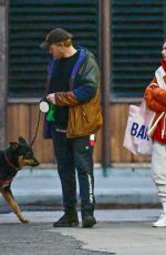 EMILY RATAJKOWSKI and Sebastian Bear McClard Out in New York 04/03/2020