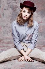 EMMA STONE for Vogue Magazine, May 2014