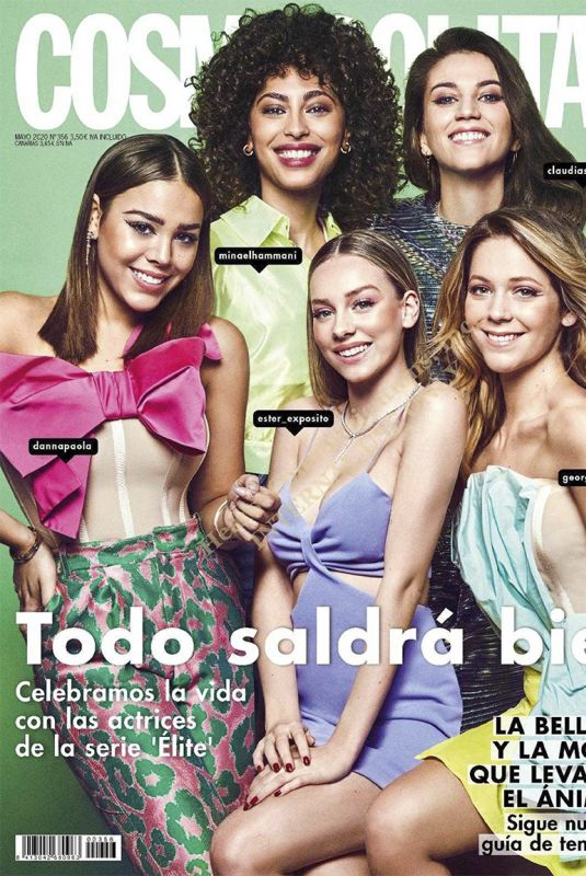 ESTER EXPOSITO, DANNA PAOLA, MINA EL HAMMANI CLAUDIA SALAS and GEORGINA AMOROS in Cosmopolitan Magazine, Spain May 2020