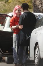 ESTHER ROSE MCGREGOR Meeting Up with Her Boyfriend in Pacific Palisades 04/24/2020