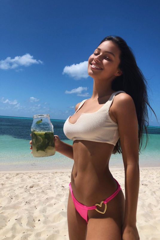 FIONA BARRON in Bikini – Instagram Photo 04/29/2020