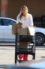 GABRIELLE REESE Out Shopping in Los Angeles 04/11/2020