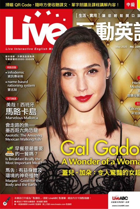 GAL GADOT in Live Magazine, April 2020
