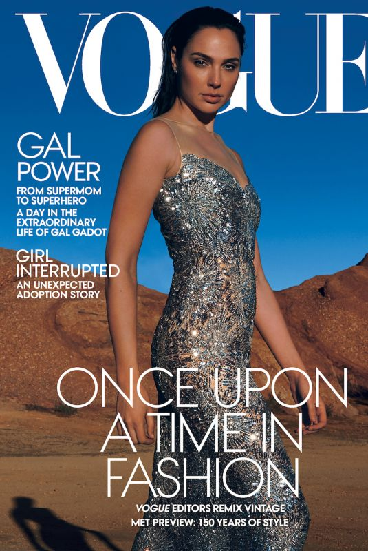 GAL GADOT in Vogue Magazine, May 2020