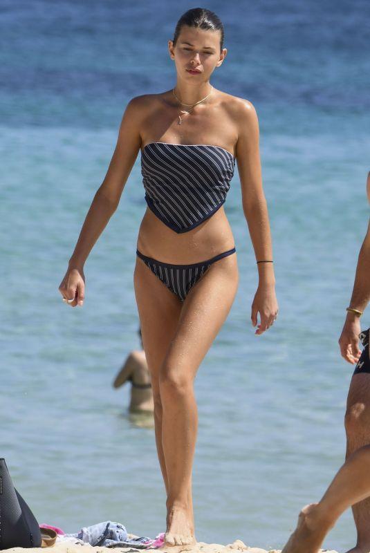 GEORGIA FOWLER in Bikini at Bondi Beach in Sydney 04/02/2020