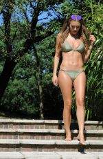 GEORGIE CLARKE in Bikini at a Pool in Hasslemere 04/26/2020