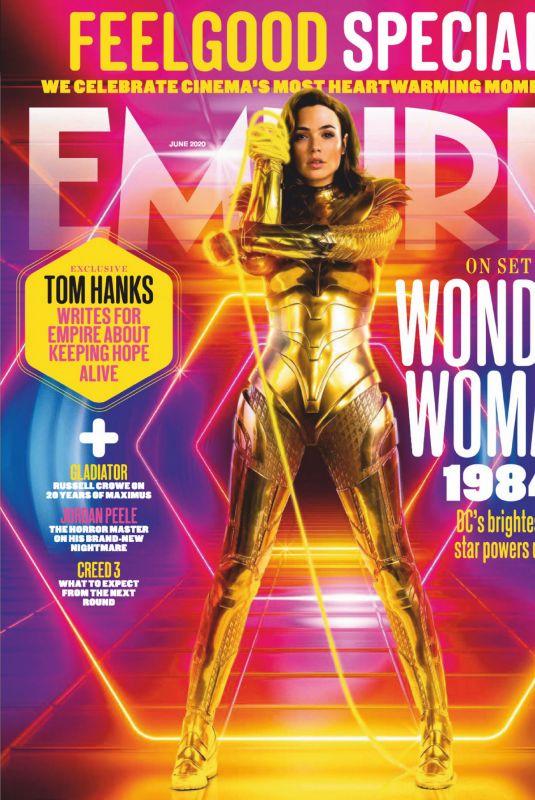 GLA GADOT in Empire Magazine, UK June 2020
