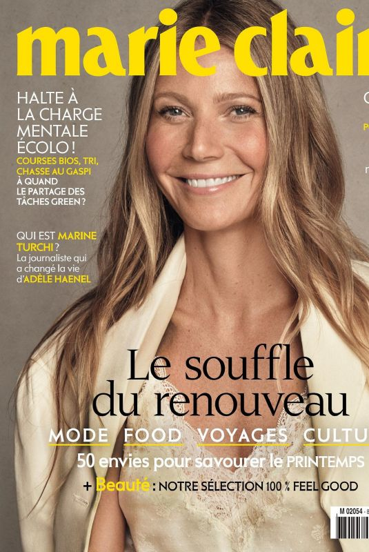GWYNETH PALTROW in Marie Claire Magazine, France May 2020
