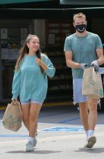 INANNA SARKIS and Matthew Noszka Shopping at Whole Food in Los Angeles 04/26/2020