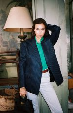 IRINA SHAYK for Interview Magazine, Stay at Home Style, April 2020