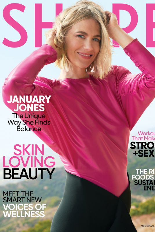 JANUARY JONES for Shape Magazine, March 2020