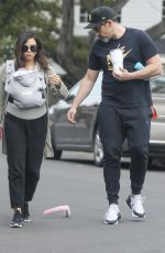 JENNA DEWAN and Steve Kazee Out in Los Angeles 03/31/2020