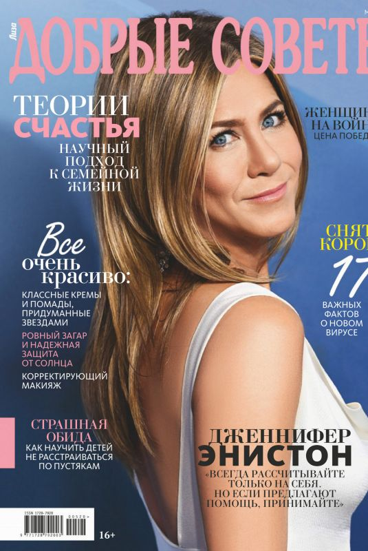 JENNIFER ANISTON in Good Advice Magazine, Russia May 2020