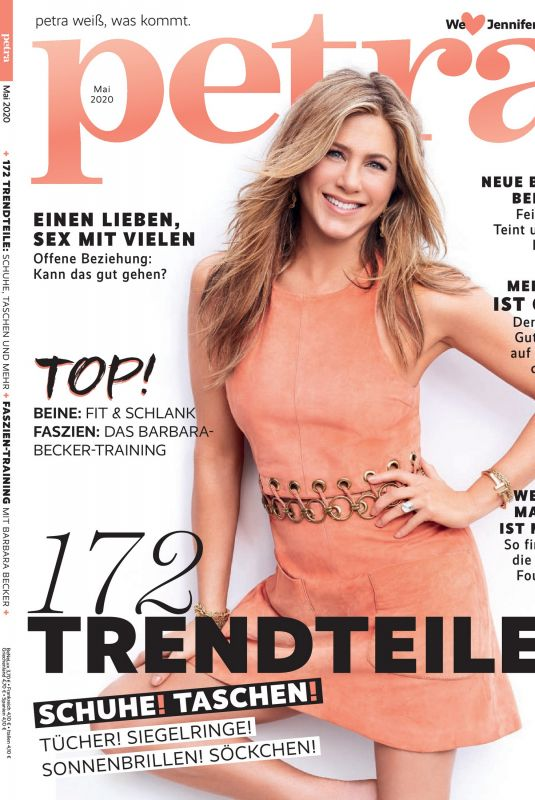 JENNIFER ANISTON in Petra Magazine, May 2020