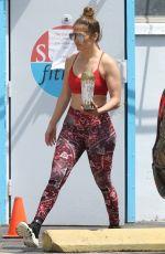 JENNIFER LOPEZ Leaves a Gym in Miami 04/01/2020