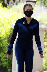 JESSICA ALBA Wearing Mask Out in Beverly Hills 04/19/2020