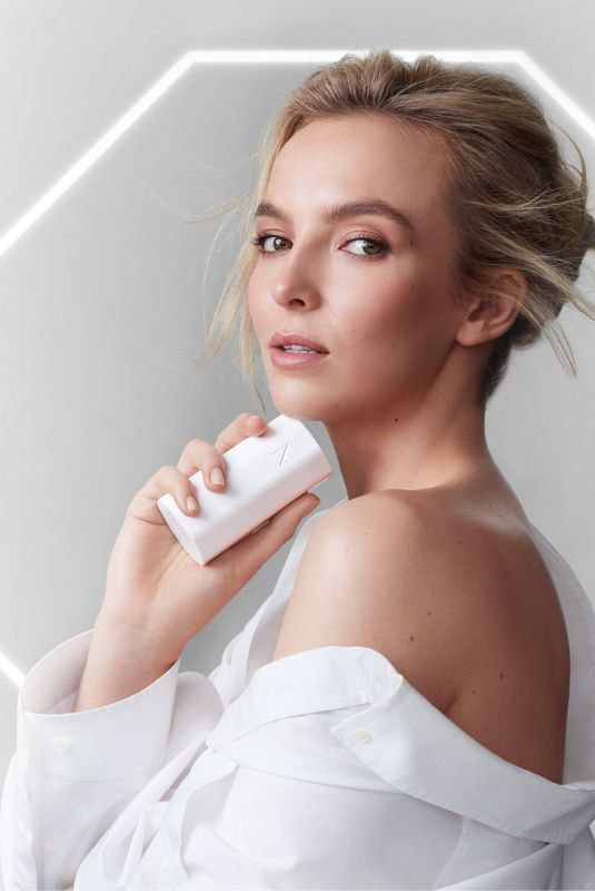 JODIE COMER as New Face of Skincare Brand Noble Panacea, 2020