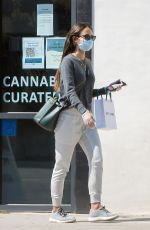 JORDANA BREWSTER Wearing Mask on Gloves Out for Ice Cream in Los Angeles 04/16/2020