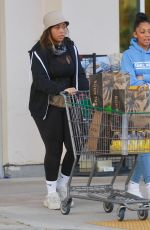 JORDYN WOODS Out Shopping Groceries in Los Angeles 04/02/2020